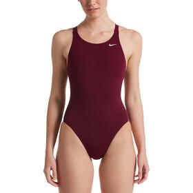 Nike Swim Hydrastrong Solids Fastback badedragt Damer, rød